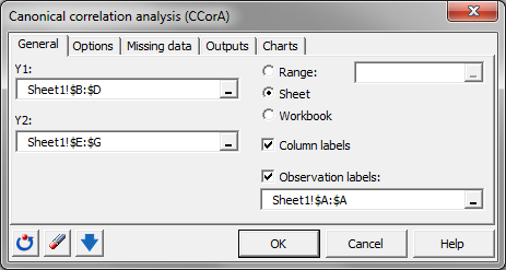 canonical correlation analysis software