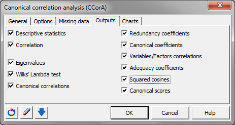 canonical correlation package