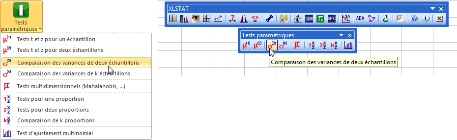 F-test using XLSTAT - Statistical Analysis Software
