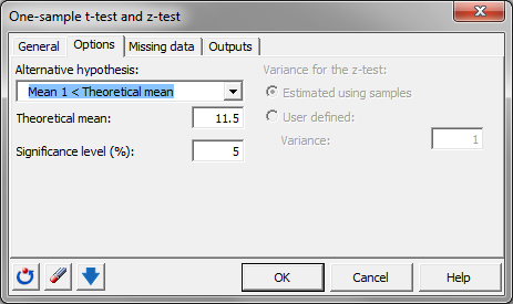 t-test software