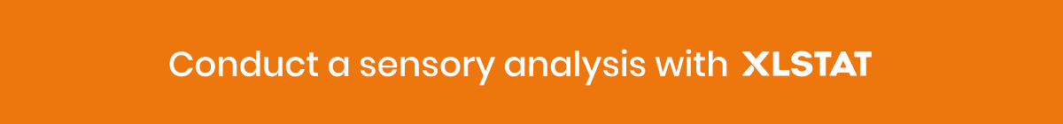 Conduct a sensory analysis with XLSTAT