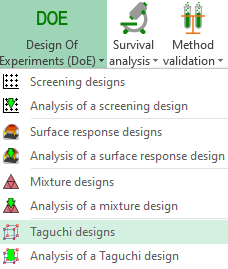 Taguchi Designs Statistical Software For Excel