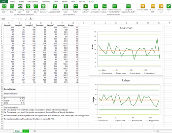 Xlstat Quality Statistical Software For Excel
