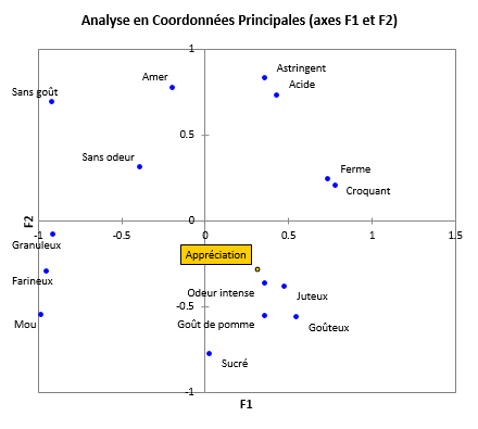 cata coordinate analysis