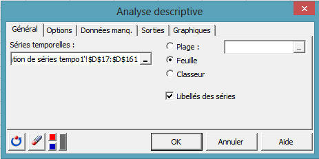 time series desc dialog box 5